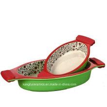 Custom Daily Use Color Glazed Bakeware