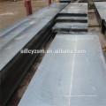 Placas de acero con bajo contenido de carbono ASTM A36