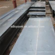 Plaques d'acier à faible teneur en carbone ASTM A36