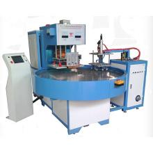Machine de soudure en plastique rotatoire de fréquence de type de PLC