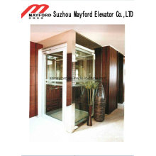 400kg Good Quality Villa Elevator with Glass Cabin
