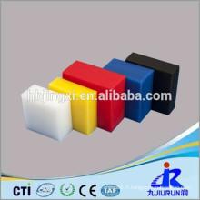 feuille de plastique PE coloré