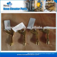 Aufzugsschlüssel, Aufzugsdreiecksperre