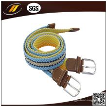 Precio de fábrica Trenzado Elastic Stretch Belt para hombre