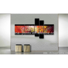 Beautiful Design Abstract Group Painting On Canvas