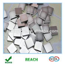 nickle plated N35 20x20x3mm 2500 gauss magnet