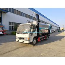 Caminhão de lixo da cozinha do corpo de aço inoxidável de Dongfeng