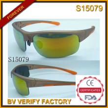 Gafas de sol 2015 más Cool deportes gafas de sol con muestra gratis (S15079)