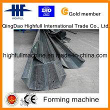 Rolo de aço da calha do Hf que forma a máquina para a estufa