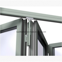 Patented Top Hanging System Aluminium Folding Door
