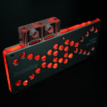 RGB light Copper Cobertura total GPU water block
