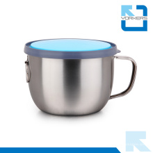 Multifunktions Edelstahl Isolierte Tasse & Fast Food Cup mit Deckel