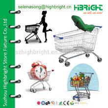 Тележка для покупок с детским сиденьем, небольшая тележка для покупок, тележка для покупок в супермаркете