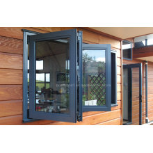 Bifold Openness Double Glass Aluminium Windows Prices