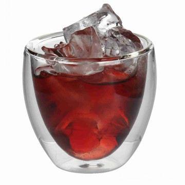 Double Wall Glass Cup in Drinking Glassware