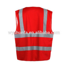 safety vests ENISO 20471 standard vest,traffic warning reflective vests fluorescent