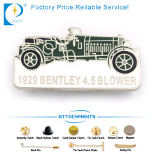 Bentley Blower Pin Badge in Ancient Style with Car Shape