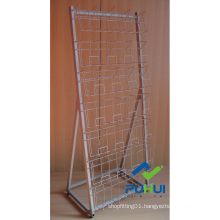 Floor Standing Metal DVD Display Shelf (pH2157)