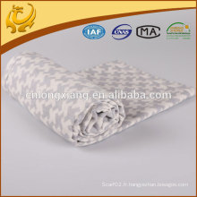 Dernière conception de matériel réel mariage classique de tissu de couverture