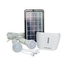 Sistema de iluminação solar de poupança de energia