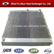 aluminum plate-fin oil cooler for screw compressor