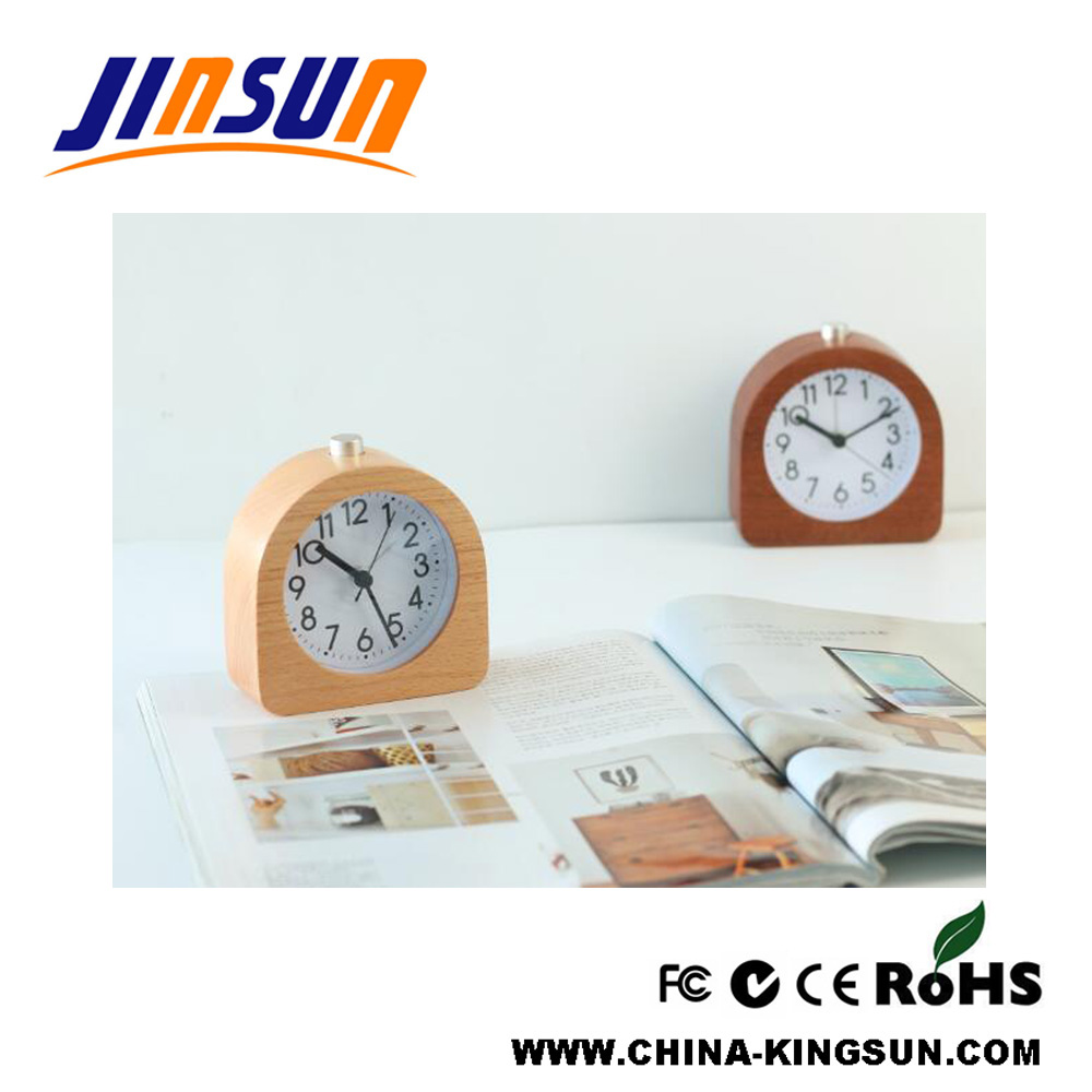 Quartz Clock Wooden