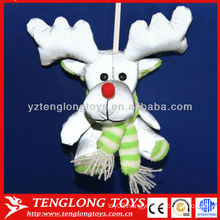 New material reflective Christmas milu deer pendant toy