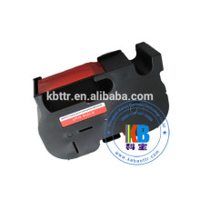 Pitney Bowes B767 fluorescent red postal machine compatible ribbon ink cartridge