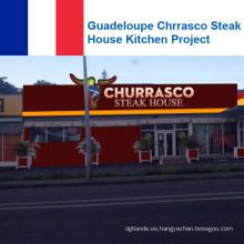Proyecto de Cocina de Chrrasco Steak House en Guadalupe