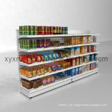 Prateleira de supermercado lateral ajustável Multi-Functional Steel Sigle Side