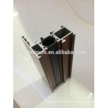 Profilés de fenêtres isolantes en aluminium