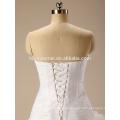 2017 Günstige Moderne Stil und Braut ballkleid weiß brautkleider für standesamtliche Hochzeit