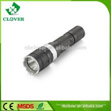 Alta Intensidade e Baratos XPE Zoom Lanterna LED Lanterna Com Bateria