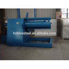 automatic steel coil 5T hydraulic decoiler