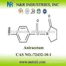 2-pirrolidinona CAS #: 72432-10-11 95% Aniracetam