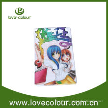 Plastic colorful id card holder with custom logo
