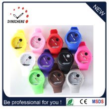 Gift Sport Wrist Christmas Watches Silicone Bracelet Jelly Watch (DC-239)