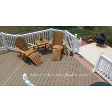 Eco Recycle Plastic Composite Decking for Garden with CE Fsc/ WPC Decking Manufacturer