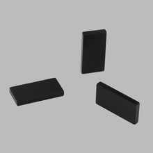 Permanent Ndfeb Magnet Black Epoxy