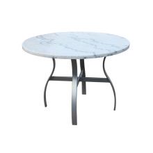 Современные алюминиевые мраморной столешницей журнальный столик