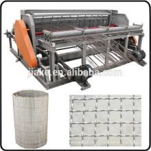 Maille métallique sertie semi automatique faisant la machine