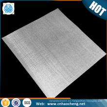 Malla de alambre de la plata esterlina de la pantalla fina de la malla de plata de la malla 20 40 60 al por mayor
