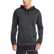 2017 hombres moda Sport Wear Hoodies sudaderas con capucha de algodón de la aptitud