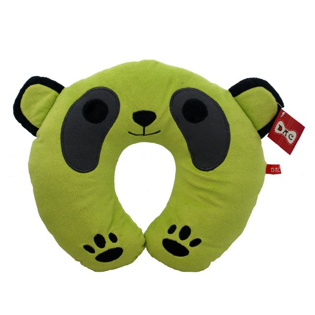 cartoon panda neck pillow