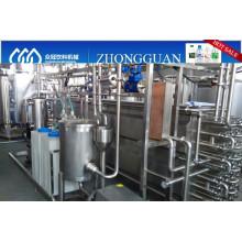 3t/h apple juice tube UHT sterilizer