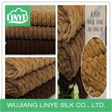 Tecido super macio / tecido chinelo / tecido de veludo