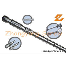 Extruder Screw Barrel Plastic Machinery Components