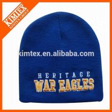Bonnets de haute qualité personnalisés en hiver 2015 avec logo en broderie 3D