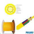cable de fibra óptica monomodo interior de 144 núcleos con amortiguación estrecha