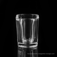 Square Shot Glass with Capacity 2oz